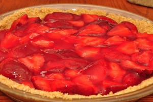 Diabetic Strawberry Pie