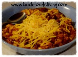 Homemade Chili 2