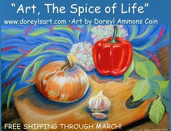 Original Art and Limited Edition Art Prints by Artist, Doreyl Ammons Cain