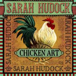 Sarah Hudock Chicken Art