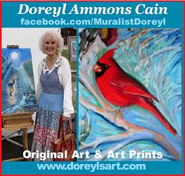 Artist Doreyl Ammons Cain