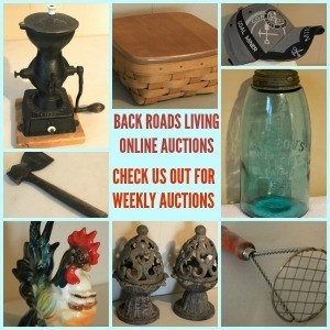 BACK ROADS LIVING ONLINE AUCTIONS