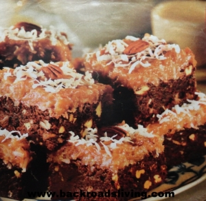 German Chocolate Brownies Recipe