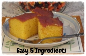 Easy Orange Sheet Cake Recipe
