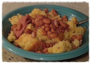 How to cook Pinto Beans and Corn Bread