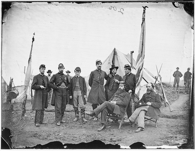 Officers of 139th Pennsylvania Infantry 6th Corps
