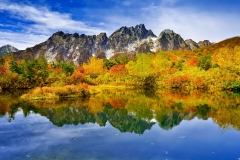 Autumn mountainous-landscape-