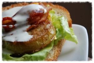 Fried Green Tomato Sandwich Recipe
