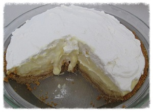 Diabetic Banana Cream Pie