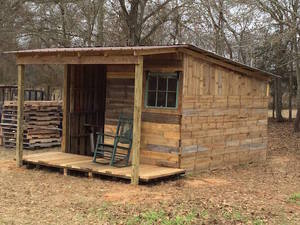 The Pallet Cabin Using STANDARD PALLET SIZE