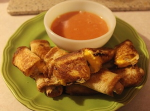 Grilled Cheese Mayo Dippers Recipe
