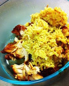 Mexican Chicken and Rice Crock Pot