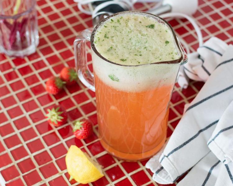 Stawberry Basil Lemonade